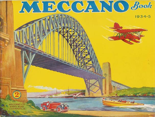 1934 1935 meccano book - Pieces detachees meccano ...